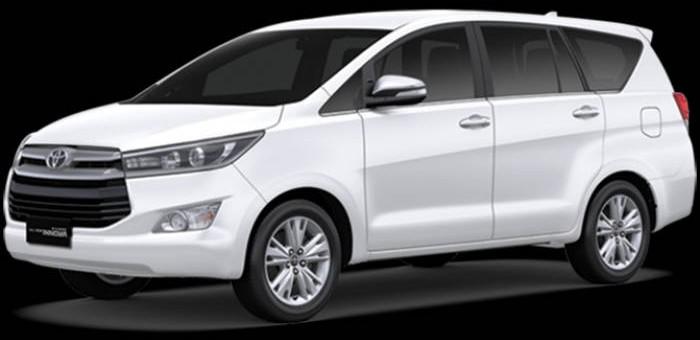 sewa kijang innova murah yogyakarta mobil warna putih