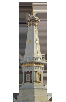 Tugu, Salah satu landmark Yogyakarta