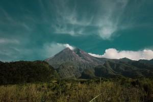 Gunung Merapi, Salah satu andalan wisata di Jogjakarta sumber ig @grnngrh