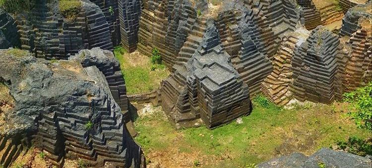 Obyek wisata Watu Giring di Gunung Kidul Yogyakarta, sumber ig gilkir