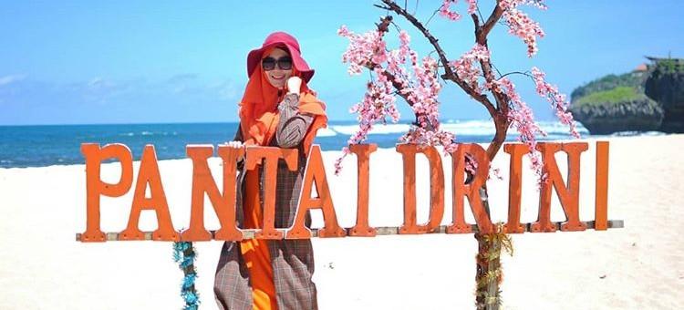 Pantai Drini Gunung Kidul Yogyakarta, sumber ig ikapuspitahusen