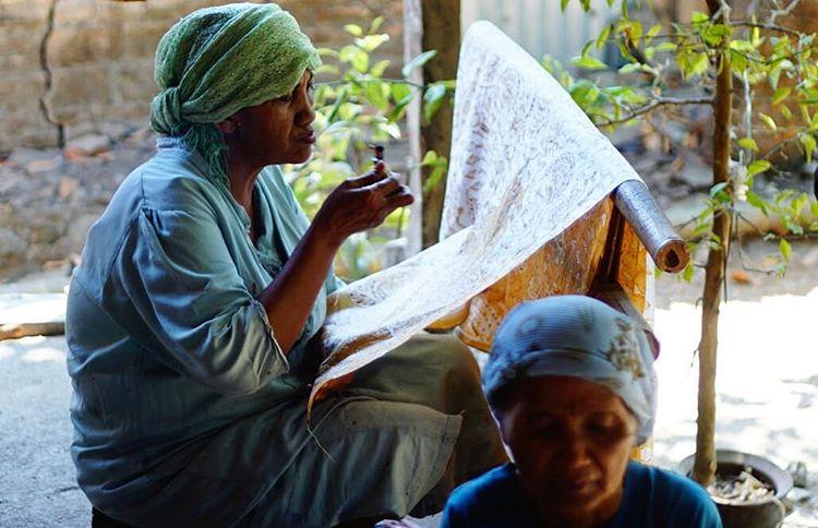 Kampung Batik Giriloyo, sumber ig engrasia
