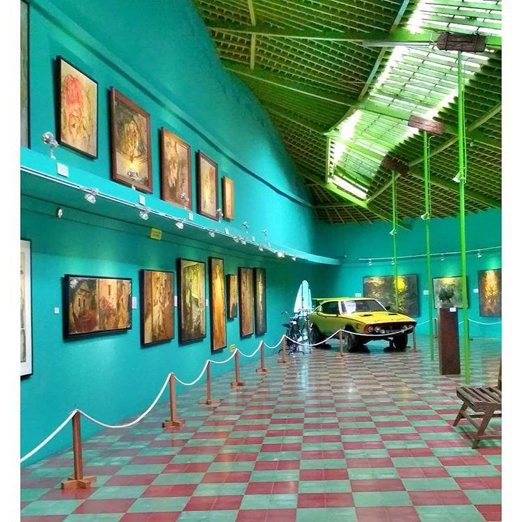 Museum Affandi Jogja, sumber ig fatyanosa