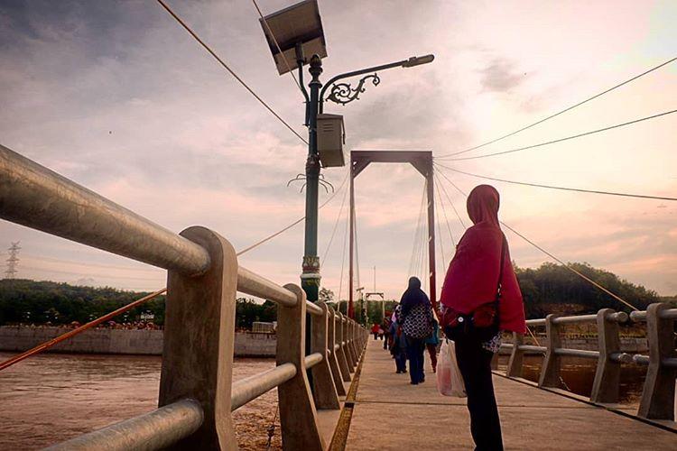 Jembatan Bendungan Kamijoro, sumber ig hn_rkg