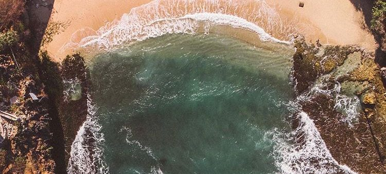 Pantai Gesing Yogyakarta, sumber ig pantai.jogja
