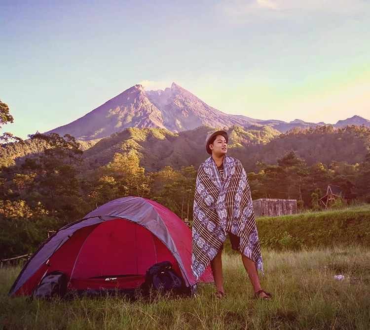 Bukit Klangon Merapi, sumber ig edo_ari_anggara
