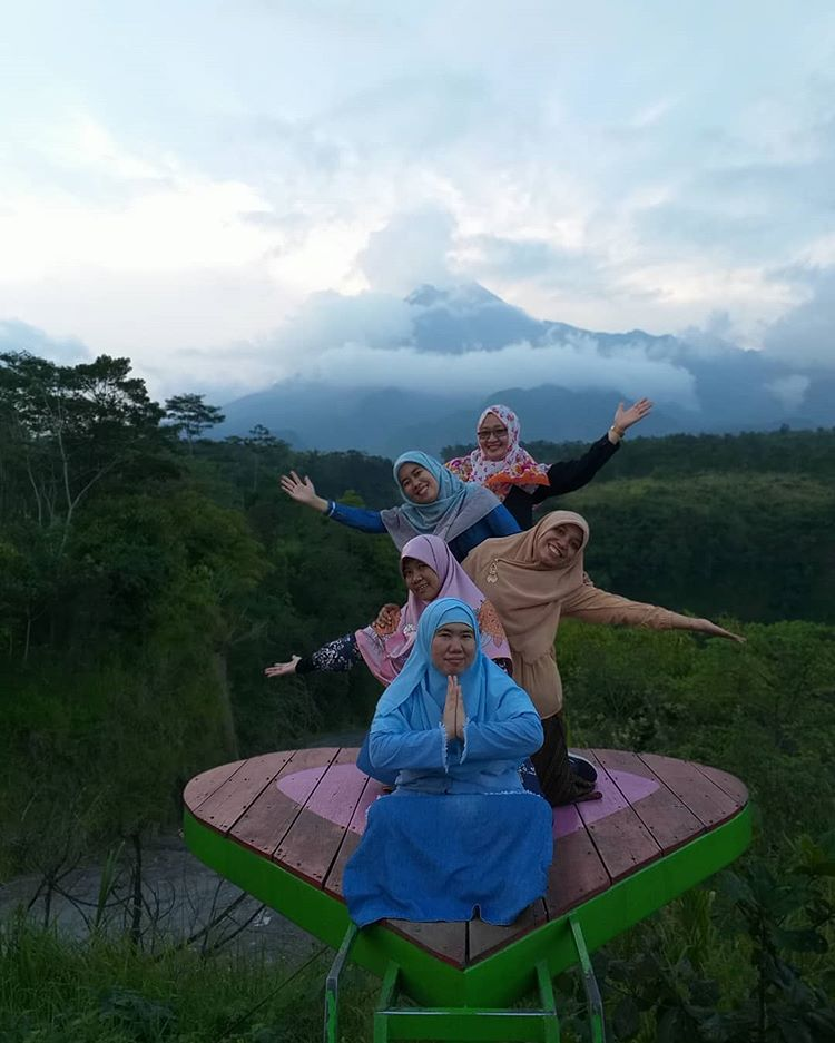 Bukit Klangon Merapi, sumber ig gerbang_adventure