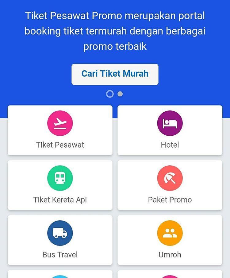 Ilustrasi Aplikasi Tiket, sumber ig tiket.ini