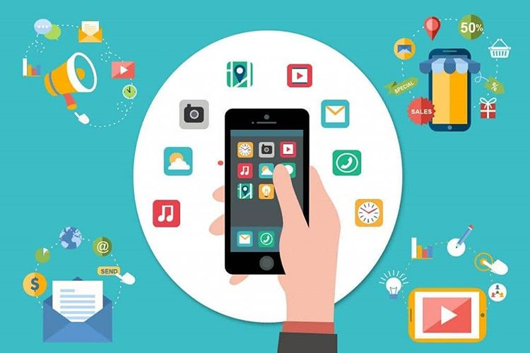 Ilustrasi Gadget dan Aplikasi Online, sumber ig celloip