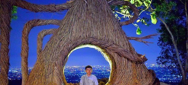 Spot Foto di Hutan Pinus Pengger, sumber ig raufan_gusrananda