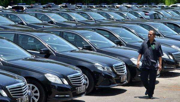 Kendaraan Rombongan Raja Salman Di Bali, sumber kabar.24.bisnis