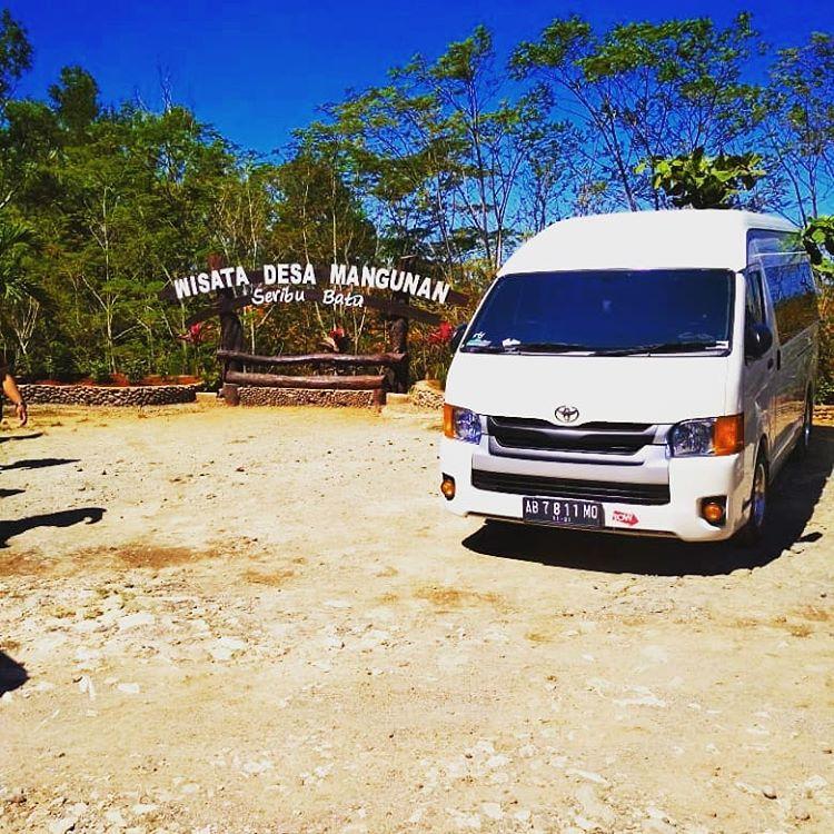 Rental Mobil Wisata Hiace di Jogja, sumber ig rumahtransport
