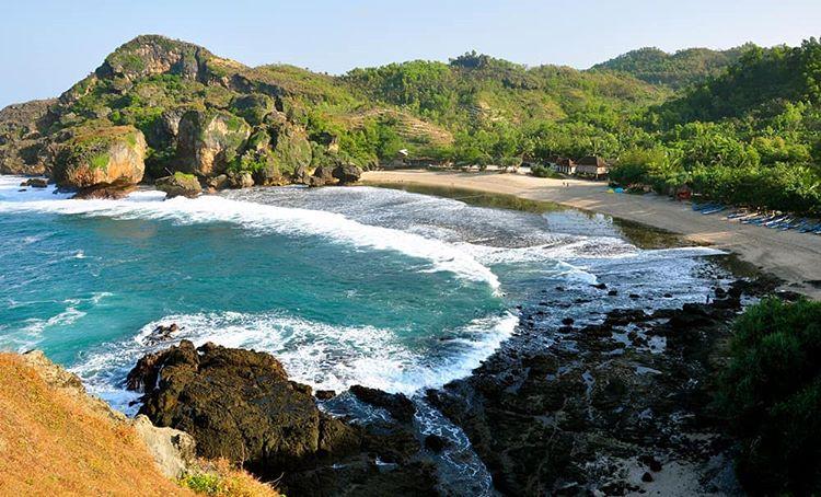 Pantai Siung, sumber ig ojekwisata_jogja